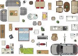 furniture floor plans. floor plan furniture royaltyfree stock vector art plans