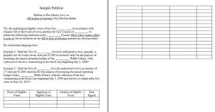 Petition Office Petition Template 04 Learn Create Templates Sample
