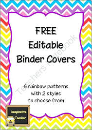 Free Editable Binder Covers And Spines Editable Binder Covers Antonchan Co