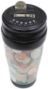 Totes Mens Auto Coin Jar, (coin bank, bank, coin counter, digital coin  counter, coin banks) | Coin jar, Cool gadgets for men, Gadgets and gizmos