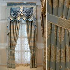 gold curtains living room. blue+white+gold+drapes | house hotel curtains for living room gold thickening