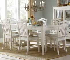 kitchen table set white