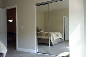 image of picture of mirrored sliding closet doors