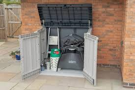 extra large garden storage unit bin
