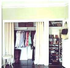 sliding door closet organization ideas ideas for closets without doors ideas for closets without doors create