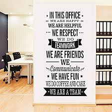 art for office walls. Yanqiao Work Team Slogan English Words Wall Stickers For Office Decoration Removable Vinyl Decal Art Walls