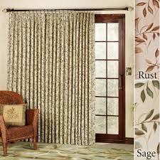 cool patio sliding door curtains design ideas with modern furniture combination for living room