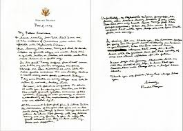 Letter World Alzheimers Awareness What Ronald Reagan Told The World Time