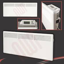Bathroom Electric Heaters Home Decor Electric Wall Panel Heaters Cabinet Door With Glass
