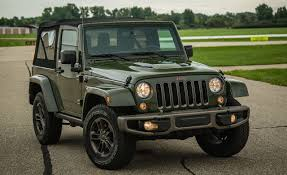 2018 jeep wrangler 75th anniversary edition test review car and driver