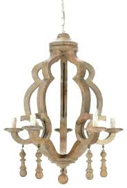 white washed wood chandelier wooden crown wash stick throughout good looking