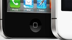 iphone home button. iphone home button o