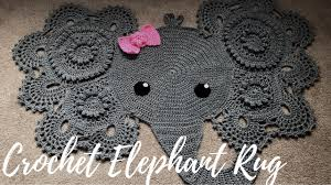 Elephant Rug Crochet Pattern Custom Homemade Crochet Elephant Rug With Bow A Glimpse Into How I Made It