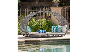 outdoor wicker daybed. Plain Outdoor Bedford Outdoor Wicker Daybed With Water Resistant Cushion  With