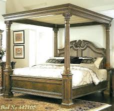 King Size 4 Post Beds 4 Post Bedroom Sets White Four Poster King Size Bed  Awesome .
