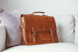 leather messenger bag full grain leather briefcase 15 image 0