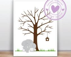 Aliexpresscom  Buy New Customized DIY Wedding Fingerprint Tree Fingerprint Baby Shower Tree