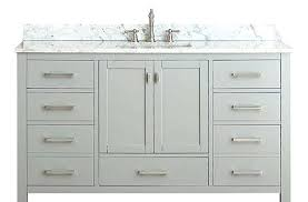 60 single sink bathroom vanity. Spacious Bella 60 Inch Single Sink Bathroom Vanity Carrara White R