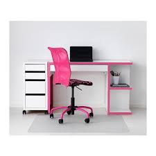 micke desk with integrated storage whitepink ikea chic ikea micke desk white