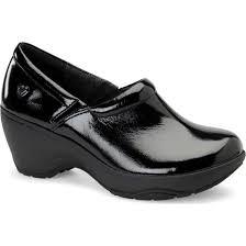 nurse mates bryar women s slip on slip resistant shoe large