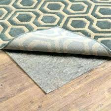rug pads for hardwood floors rug padding grippers rugs the home depot rug pads for wood