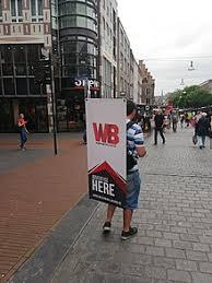 sign twirler human billboard wikipedia