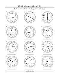 3c0812319bcda40ecb3e0573d3643d57 clock worksheets free worksheets 52 best images about math on pinterest clock worksheets, telling on 2nd grade common core reading worksheets