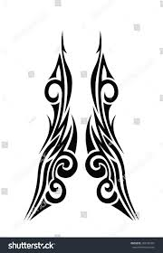 Tattoos For Interior Designers Tattoo Art Tribal Vector Designs Abstract Stock Vector