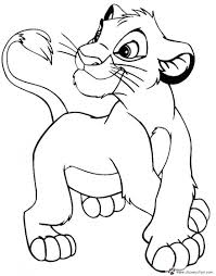 simba coloring page the lion king printable coloring pages 2