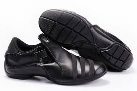 adidas leather shoes black vs92x2g for men
