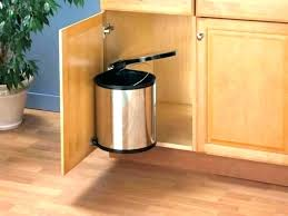 Kitchen Trash Can Ideas Cool Design Ideas