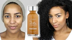 L Oreal True Match Shade Chart Loreal True Match Foundation Concealer Demo Review
