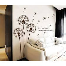 l off wallpaper home depot wall murals dandelion wall decal