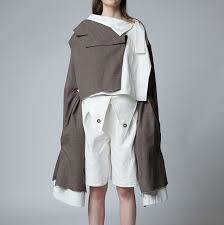 graduate diploma in fashion central saint martins ual  final collection of he sha sha byhe he is now studying ma textile design