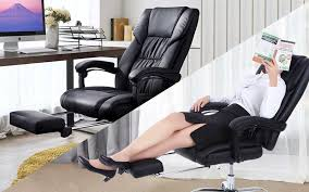 Office reclining chair Mesh Best Reclining Office Chairs With Footrests june 2018 Reviews Ergonomic Trends Best Reclining Office Chairs With Footrests june 2018 Reviews
