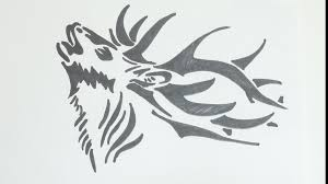 6 Stag Drawing Deer Head For Free Download On Ayoqq Org
