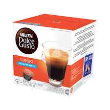 What is a lungo coffee. Nescafe Dolce Gusto Lungo Decaffeinato Coffee 16 Capsules Box Nes27329 Quill Com