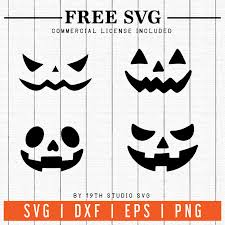 Freebies In 2020 Pumpkin Faces Artwork Meaning Svg