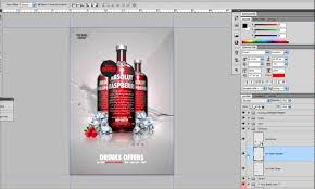 template for advertisement a3 psd drinks promotion advertisement template youtube
