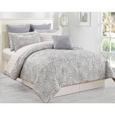 duck river mathylda 10 piece taupe queen comforter set