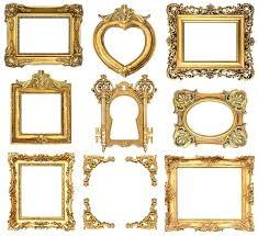 ornate gold frame border. Fine Ornate Golden Picture Frame Check Out Baroque Style Antique Frames By On  Creative Market Gold   And Ornate Gold Frame Border R