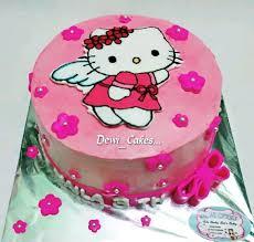 Birthday Cake Hello Kitty Undangan Terbaru