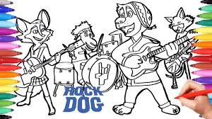 Dog Coloring Pages Printable For Kindergarten Free Bone Cute Hard