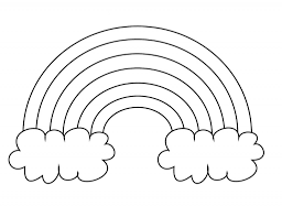 Download and print this rainbow coloring pages free printable p3frm for the cost of nothing, only at everfreecoloring.com. Free Printable Rainbow Coloring Pages For Kids Rainbow Pages Rainbow Drawing Preschool Coloring Pages