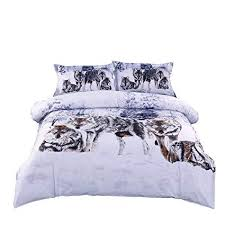 full size duvet. Perfect Size Ammybeddings Full Size Wolf Bedding Sets White Mountain And Snow  Print 3D Throughout Duvet M