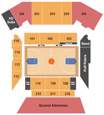 Mckeon Pavilion Seating Chart Buy Gonzaga Bulldogs Tickets Seating Charts For Events