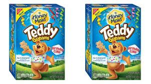 Teddy Grahams Now in New Birthday Cake Flavor