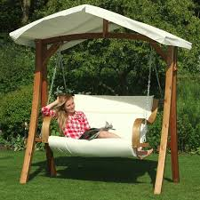 Small Picture Garden Swing Changed The Look Of The Garden In A Great Way Fresh