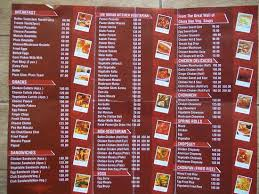 Restarunt Brochure New Menu Card Picture Of Hotel R Maidens Kasauli Restaurant