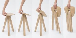simple wooden chair. Minimalist Portable Wooden Chair Simple